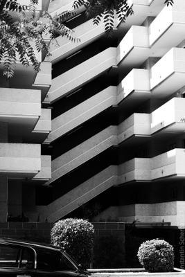 *** испания салоу дом фасад черно-белое
