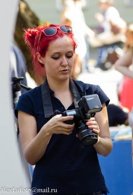 Удачный кадр Портрет девушка фотограф