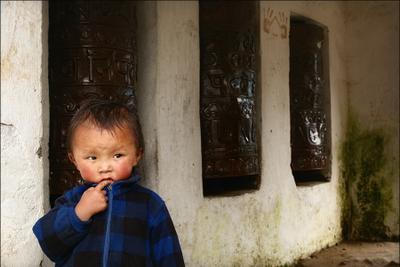 Маленький шерпа Непал, Nepal, Гималаи, ребёнок, шерпа