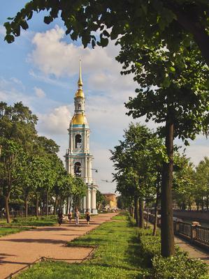 Набережная Санкт-Петербург Крюков канал лето