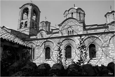 Сербское святилище в оккупированном Призрене в Косово
