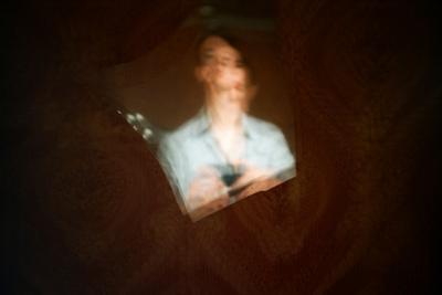 осколки автопортрет пленка ломография зеркало осколки мультиэкспозиция
