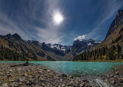 ~~~ Верхнее Мультинское ~~~ Алтай озеро Мультинское Alta i lake vakomin