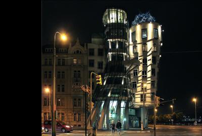 Прага. Вечерний вальс.