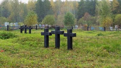 Тишина путешествия Дегтярск кресты немецкое кладбище