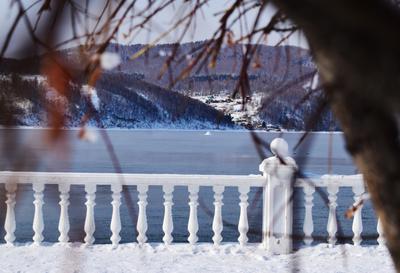 Шаман камень, Байкал Байкал зима солнце