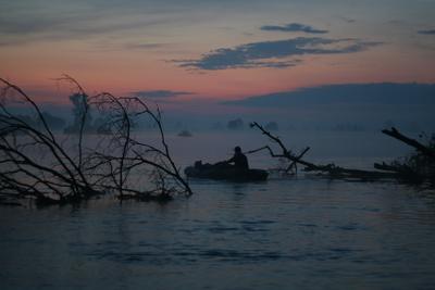 ранняя рыбалка