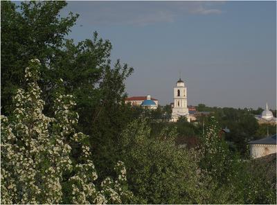 Весна в Серпухове