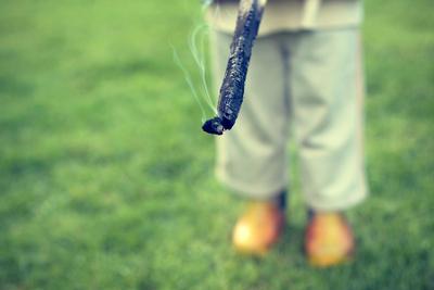 playing with the smoke smoke