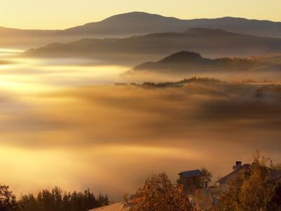 Living in Heaven III rodopi, mountain, village, sunrise, bulgaria