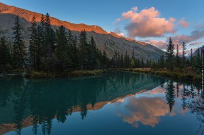 ~~ Бирюзовые воды Мульты 2 ~~ Алтай река Мульта Altai riber Multa vakomin