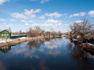 река Судогда весной судогда река Владимир
