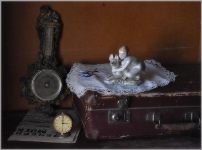 .... Навеянное временем ....... предметы свет идея гармония композиция
