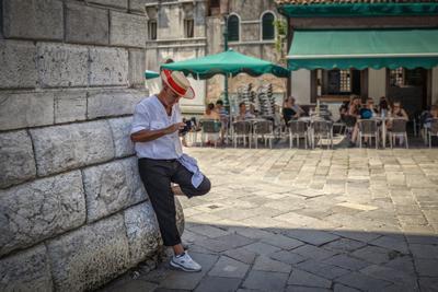 Венецианские гондольеры #2 италия венеция гондольеры