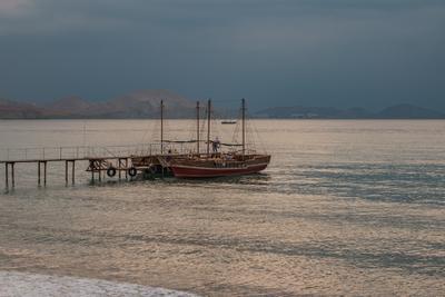 Коктебельский залив на закате коктебель закат
