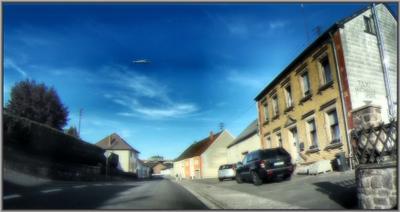 Сельцо в Германии (2) Германия село дорога