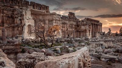 Ливан, храмовый комплекс Баальбек