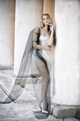 Lace dress Девушка красота портрет кружевное платье модель Кусково