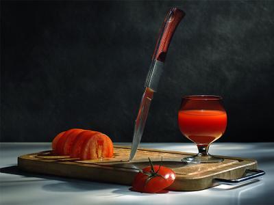 * томаты сок нож световая кисть