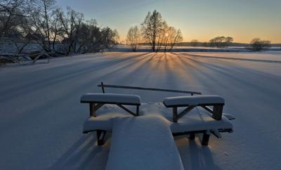 Зимним вечером (Д. Юсупово, МО)