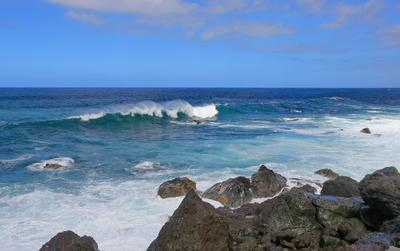*** одинокая волна.... атлантика волна пейзаж побережье