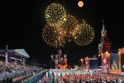 Праздник Москва красная площадь