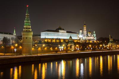 Ночная Москва! архитектура город городской пейзаж зима кремль кремлёвская набережная москва москва-река ночь огни река россия