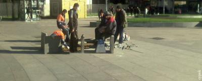 Таджикский Стоунхендж таджики гастарбайтеры плитка стоунхендж слющай работай