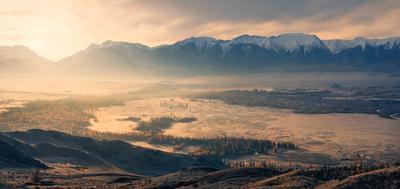 Долина грёз... пейзаж Алтай горы рассвет