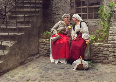 *** Tatjana Stassevits,девушки,портрет,женский портрет,костюм,старина