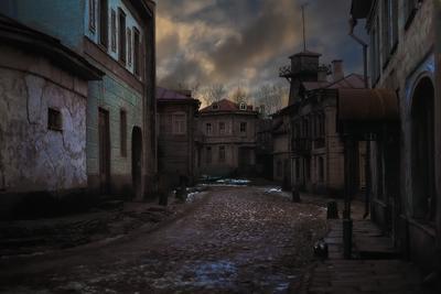 вечер Москва улица Мосфильмовская 1