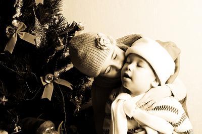 нежность дети, новй год
