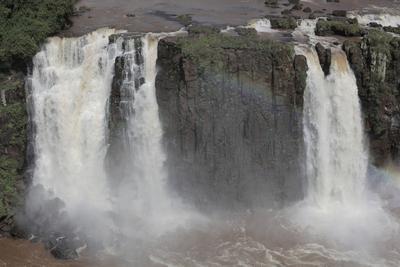 Большая вода Игуасу водопад