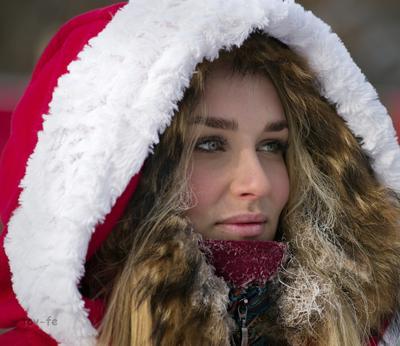 """""""Снегурочка"""" девушка зима Рождество"""