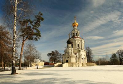 Март в Троице-Лыково Троице-Лыково Церковь Троицы Живоначальной