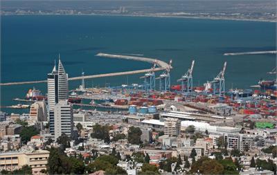 Порт Хайфы, жара, карантин (((((