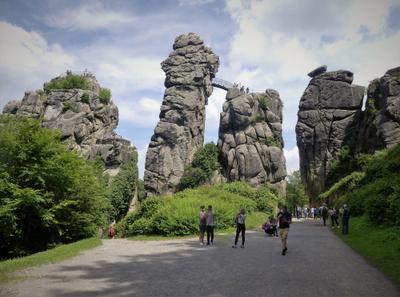 Тайны древнего Экстернштайне Природа скалы