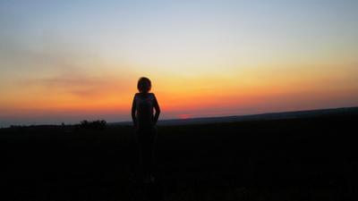 Мой край , моя Родина ... закат
