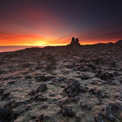 #248 Sunrise on Londragard planet iceland Londragar