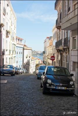 Lisbon Portugal, Lisbon, Португалия, Лиссабон, улица, машины, дома