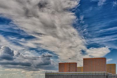 *** облака москва мск фактура город небо минимализм