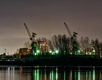 *** Красноярск ночной город