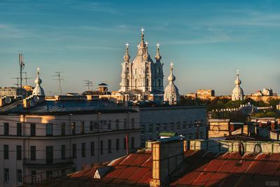 Смольный Санкт-Петербург Смольный крыши