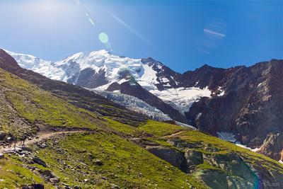 альпийские зарисовки на пути к Монблану горы, альпы