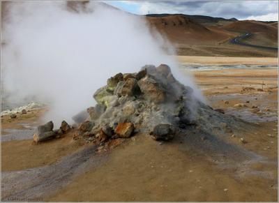 Термальная площадка Кверир Исландия, Island