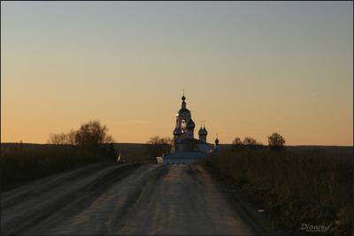 К вечерней... Антушково Монастырь Ивановская область