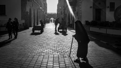 На улицах Эссуэйры, Марокко