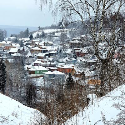 Плёс Плёс туризм Волга зима потаённаяРоссия