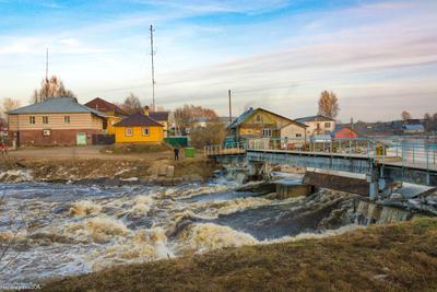 весна на реке Леденьга 2