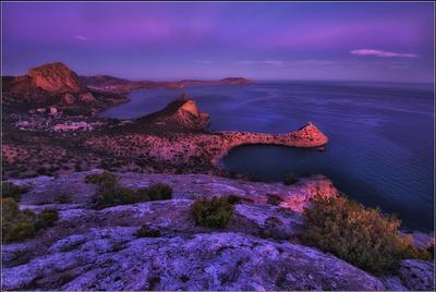 *** Крым Новый свет вечер